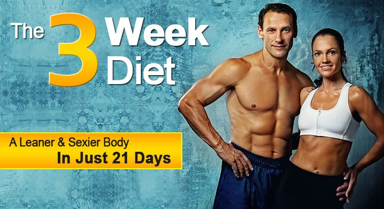 The three week diet